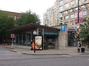 Yaletown Station Canada Line Map Yaletown–Roundhouse station   Wikipedia