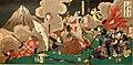 Yamamoto Kansuke killed at Kawanakajima.jpg