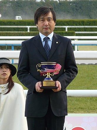 Satono Diamond - Satono Diamond's trainer Yasutoshi Ikee