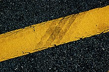 Thermoplastic Road Marking Paint Wikipedia