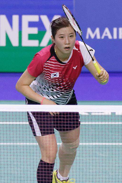 Yonex IFB 2013 - Eightfinal - Bae Youn-joo — Saina Nehwal 01