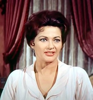 McLintock! - Yvonne De Carlo as Mrs. Warren