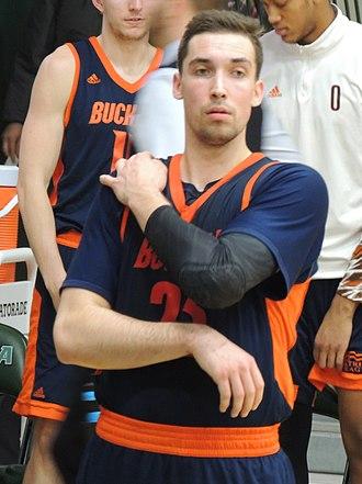 Zach Thomas (basketball) - Thomas in a January, 2018 game