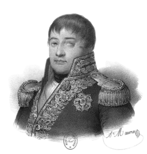 Zacharie Allemand - Portrait of Allemand, by Antoine Maurin