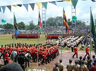 Tanzania People's Defence Force - Image: Zanzibar, 12 Jan. 2004, celebration of 40 years' Revolution