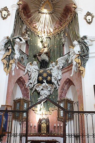 Pilgrimage Church of Saint John of Nepomuk - Main altar