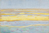 Zeegezicht, Piet Mondriaan, 1909.jpg