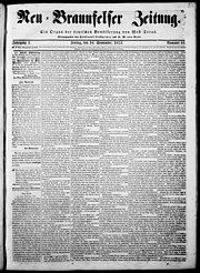 Zeitung 1853