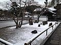 Zen Garden of Komyoji Temple in Dazaifu, Fukuoka in a snowy day.JPG