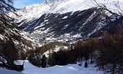 Zermatt depuis Furi