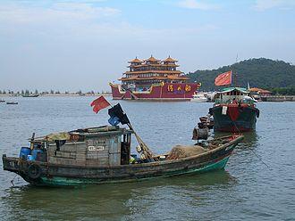 Fishing industry in China - Zhuhai fishing port