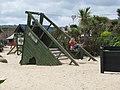 Zipwire in children's playground behind the promenade - geograph.org.uk - 1387911.jpg