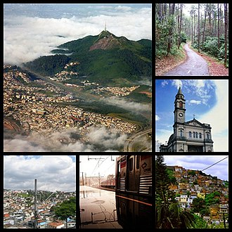 Northwest Zone of São Paulo - Image: Zona Noroeste Montagem