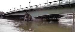 Zuave der Pont de l'Alma