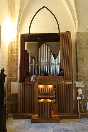 Zuglio, Chiesa di San Pietro Apostolo, Organo Giacomo Selenati.jpg