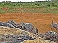 """""""Lagoa da Pedra"""" completamente seca em 17-01-2016. - panoramio.jpg"""