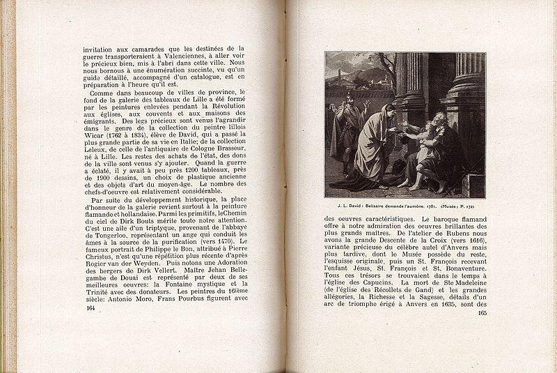 """File:""""Lille"""" par le Lieutenant Feulner - Page 164 et 165.jpg"""