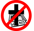 """NO RELIGION in science"" Symbol.png"