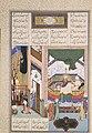 """Siyavush Recounts His Nightmare to Farangis"", Folio 195r from the Shahnama (Book of Kings) of Shah Tahmasp MET ISL131.jpg"