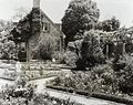 """""""York Hall,"""" Captain George Preston Blow house, Route 1005 and Main Street, Yorktown, York County, Virginia. Guest house in Memory Garden.jpg"""