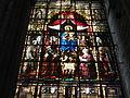 'Stained Glass window inside Sint Baafs Kathedraal' by Tania Dey.JPG