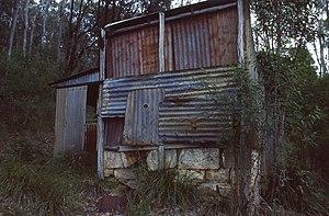 Marramarra National Park - Image: (1)Hut Big Bay Marramarra NP