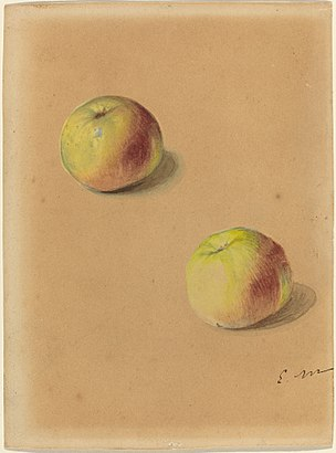 Édouard Manet - Two apples.jpg