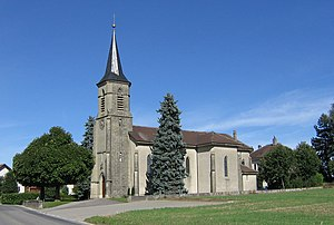 Saint-Barthélemy, Switzerland - Image: Église Saint Barthélémy Vaud 06.09.2011