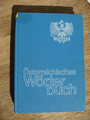 Österreichisches Wörterbuch - The school version of the 36th edition from 1985