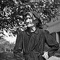 Čuklerjeva mati, Sfiligoj Cecilija, stara 80 let, Barbana 15 pri Fojani 1953.jpg