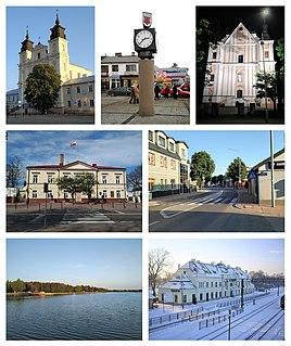 Łuków Place in Lublin Voivodeship, Poland