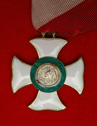 Military Order of Maria Theresa - Reverse