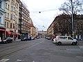 Štefánikova, Arbesovo náměstí, k náměstí Kinských.jpg