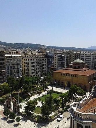 Hagia Sophia, Thessaloniki - Image: Αγια Σοφια