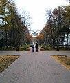 Аллея сердец в Мурманске на улице Воровского.jpg