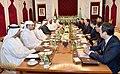 Аскар Мамин провел переговоры с вице-премьером и министром по делам президента ОАЭ.jpg