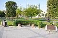 Баку, бульвар, уютная скамейка.JPG