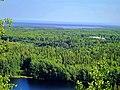 Вид с Секирной горы на Савватьевский скит.JPG