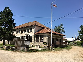 Višni Village in Struga, Macedonia