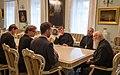 Голова СУВД митрополит Іоан (Яременко) і Патріарх Філарет.jpg