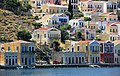 Набережная на левой стороне бухты. Ano Symi. Остров Symi. Greece. Июнь 2014 - panoramio.jpg