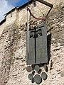 Псковский Кремль. Меч и кованый герб города. - panoramio.jpg