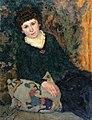 П. И. Келин. Женский портрет (1922).jpg