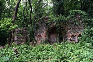 Falih Rıfkı Atay Nature Park - Church ruins in the nature park