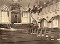 בית הכנסת אוהל יעקב, צילום פנים, 1912.jpg