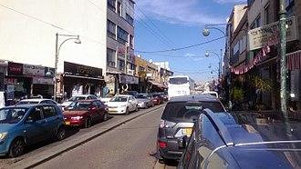 Daliyat al-Karmel - Main street of Daliyat al-Karmel