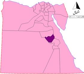 الموقع في جمهورية مصر العربية