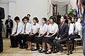 กลุ่มนักร้องประสานเสียงร้องเพลงชาติ เวอร์ชั่นแรกเริ่มโ - Flickr - Abhisit Vejjajiva.jpg