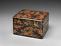 岸蒔絵手箱-Box for Personal Accessories (Tebako) with Shells and Seaweed Design MET DP704173.jpg
