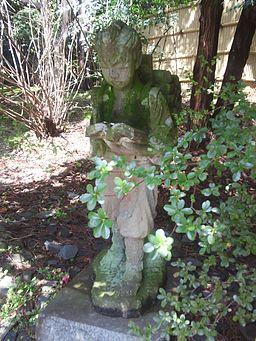 椿大神社 - 二宮金次郎像
